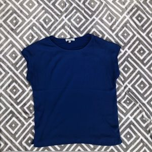 Chaus Tops - Blue blouse